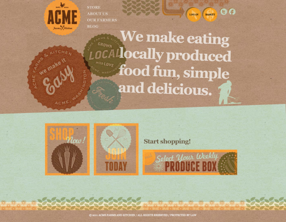 Home | Acme Farms and Kitchen (20110627)
